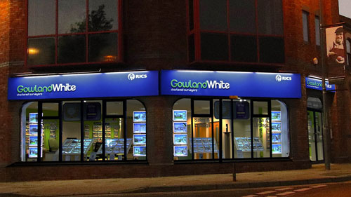 Gowland White, Stockton office